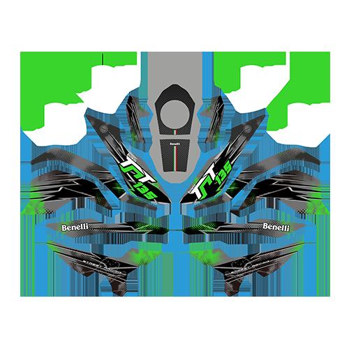 Sticker Kit – Green